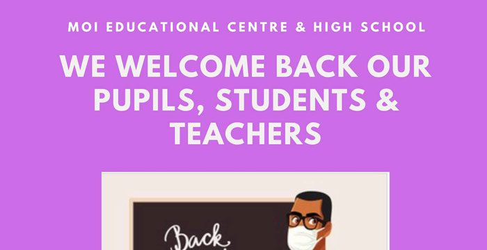 Welcome back – New School Term